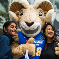 Ryerson University Rams mascot